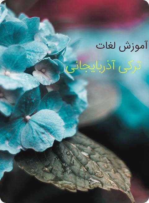 کتاب آموزش لغات ترکی آذربایجانی
