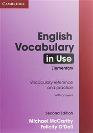 دانلود رایگان کتاب لغات سطح ابتدایی English vocabulary in use